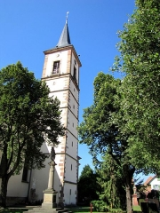 Eglise catholique Sainte-Marguerite - Alsace, Bas-Rhin, Église Sainte-Marguerite de Geispolsheim (PA00085279, IA00023181).