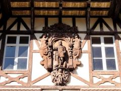 Domaine de la Leonardsau - Français:   Alsace, Bas-Rhin, Obernai et Boersch, Domaine de la Leonardsau (1899-1921) (PA00084847, IA00024016).