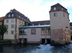 Anciennes glacières - Hôtel Régent-Petite France, Strasbourg, sur le site des anciennes glacières