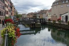 Anciennes glacières -  Ill river @ Petite France @ Grande Ile @ Strasbourg