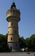 Château d'eau -  Sélestat, Bas-Rhin (Alsace, France).
