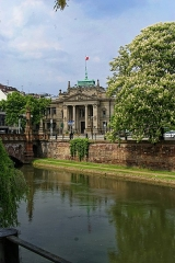 Palais de Justice - English: Strasbourg - Quai Schoepflin - View on Palais de Justice