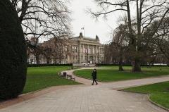 Ancien palais de la Diète d'Alsace-Lorraine, actuellement Ecole supérieure d'Art dramatique, Conservatoire de musique et Théâtre national de Strasbourg - German civil engineer and photographer