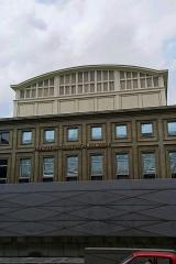 Ancien palais de la Diète d'Alsace-Lorraine, actuellement Ecole supérieure d'Art dramatique, Conservatoire de musique et Théâtre national de Strasbourg - English: Strasbourg - Rue André Malraux - View NW on Le Théâtre national de Strasbourg