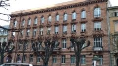 Direction régionale des Douanes -  Avenue de la Liberté Strasbourg en décembre