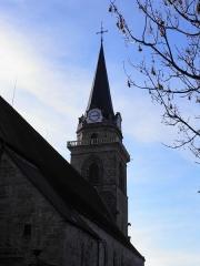 Eglise catholique de l'Assomption de la Bienheureuse Vierge Marie - Église de Bergheim (Haut-Rhin, France).