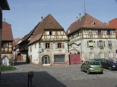 Maison -  Bergheim im Elsaß.