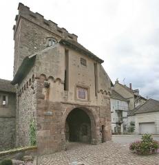 Anciennes fortifications - Hrvatski: Thann - povijesni muzej i gradska vrata