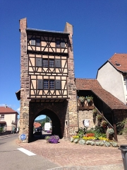 Anciennes fortifications -  Porte de Thann inCernay