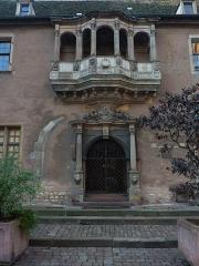 Ancien corps de garde ou ancienne maison de police -  Beautiful doorway at Colmar