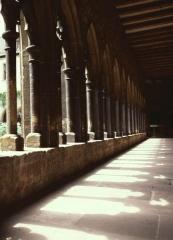Ancien couvent des Unterlinden -  Alsace Colmar Unterlinden Cloitre 041990