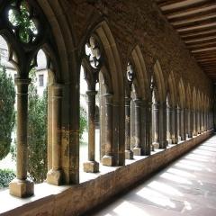 Ancien couvent des Unterlinden -  Siège du Musée Unterlinden. Cloître du couvent, XIIIe siècle Colmar, Alsace, Haut-Rhin, France www.musee-unterlinden.com/