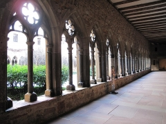Ancien couvent des Unterlinden - English: Cloister in the museum of Unterlinden (end of 13th century) in Colmar, France.