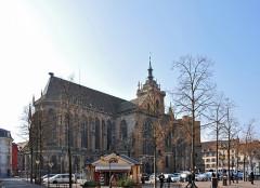 Ancienne collégiale Saint-Martin - Deutsch: Münster St. Martin, Colmar, Elsass, Frankreich