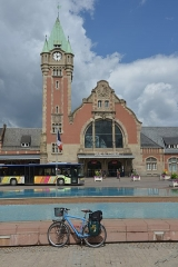 Gare centrale des voyageurs - German civil engineer and photographer