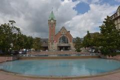 Gare centrale des voyageurs - German civil engineer and photographer