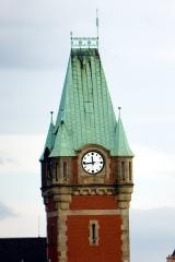 Gare centrale des voyageurs - Deutsch: Hauptbahnhof Colmar, von Südwesten gesehen.