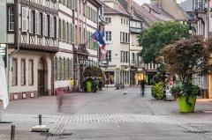 Hôtel de ville - English: Rue des Clefs in Colmar, Haut-Rhin, France