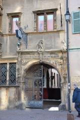 Maison des Têtes -  19 Rue des Têtes; Restaurant La Maison des Têtes, Colmar, Alsace, France