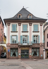 Maison - English: Building at 4 rue des Boulangers in Colmar, Haut-Rhin, France