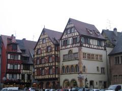 Maison Adolphe -  Alsace Colmar Place Cathedrale