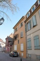 Maison -  Wohnhaus des Dicters Pfeffel (1736 - 1809), Colmar, Alsace, France