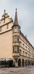 Maison - English: Building at 19 Grand'Rue in Colmar, Haut-Rhin, France
