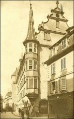 Maison - Hrvatski: Razglednica poslana u Zagreb 1932. godine. 1251 R Colm 1932 ab