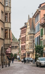 Maison - English: Grand'Rue in Colmar, Haut-Rhin, France