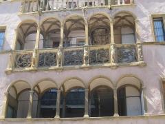 Maison Saint-Jean -  Façade italienne à Colmar