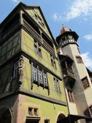 Maison -  Das Pfisterhaus in Colmar ist eines der schönsten Häuser im Altstadtzentrum