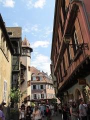 Maison -  Das Stadtzentrum von Colmar im Elsass ist Weltkulturerbe