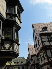 Maison -  Altstadt Colmar mit pittoreskem Fachwerk