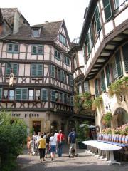 Maison - Deutsch: verwinkelte Altstadt von Colmar