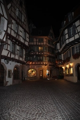 Maison - English: Night in Colmar, France in August 2013.
