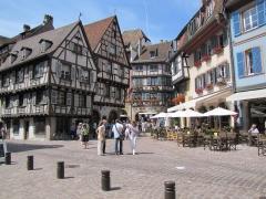 Maison - Français:   Alsace, Haut-Rhin, Colmar, Grand\'Rue.