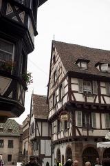 Maison - Français:   Maisons à pan de bois rue des Marchands à Colmar.