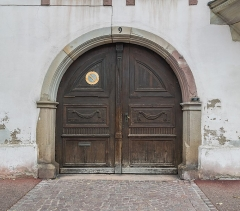 Maison - English: Portal of the building at 9 rue de Turenne in Colmar, Haut-Rhin, France