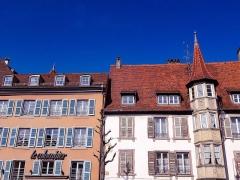Maison - La rue de Turenne à Colmar