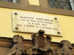 Musée Bartholdi -  Bartholdi's museum, Colmar, Alsace
