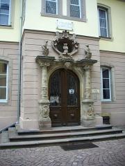 Musée Bartholdi - Français:   Entrée du musée Bartholdi à Colmar (Haut-Rhin)