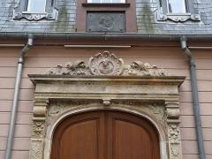 Musée Bartholdi - Français:   Colmar: cour intérieure du Musée Bartholdi