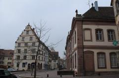 Ancien palais du Conseil Souverain d'Alsace, actuel Tribunal de Grande Instance -  Colmar
