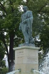 Statue de l'amiral Bruat - German civil engineer and photographer
