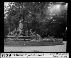 Statue de l'amiral Bruat -