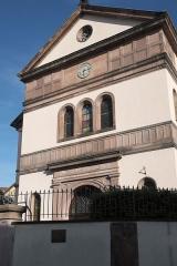 Synagogue - Deutsch: Synagoge in Colmar im Département Haut-Rhin (Elsass/Frankreich)