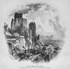 Ruines du château de Dagsbourg -