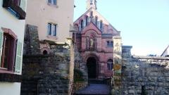 Ancien château impérial dit de Saint-Léon-Pfalz, ancien château des évêques de Strasbourg -  Chapelle Saint-Léon IX
