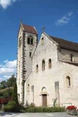 Couvent - Deutsch: Kirche Saint-Jacques-le-Majeur (Jakobus der Ältere) in Feldbach im Département Haut-Rhin (Elsass/Frankreich)