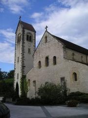 Couvent - Deutsch: Feldbach, Kirche St-Jacques, außen